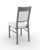Payton Amisco Metal Upholstered Stool